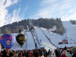Nytårs-skihop i Garmisch-Partenkirchen